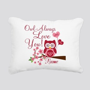 Owl Always Love You Rectangular Canvas Pillow
